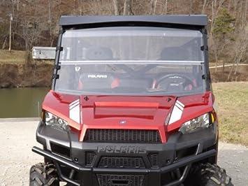 Superior 2012 2016 Polaris Ranger 900 XP, 1000 Clear Full Front Folding,Fold Down