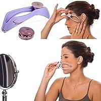 Ceanfly Gesichtshaar -Entferner Augenbrauen-Gesicht und Körper-Haar-Threading und Removal System Rasur/Haarentfernung Dual 12 x 3,2 cm
