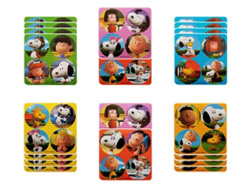 Charlie Brown Party Favors - 18 sheets 72