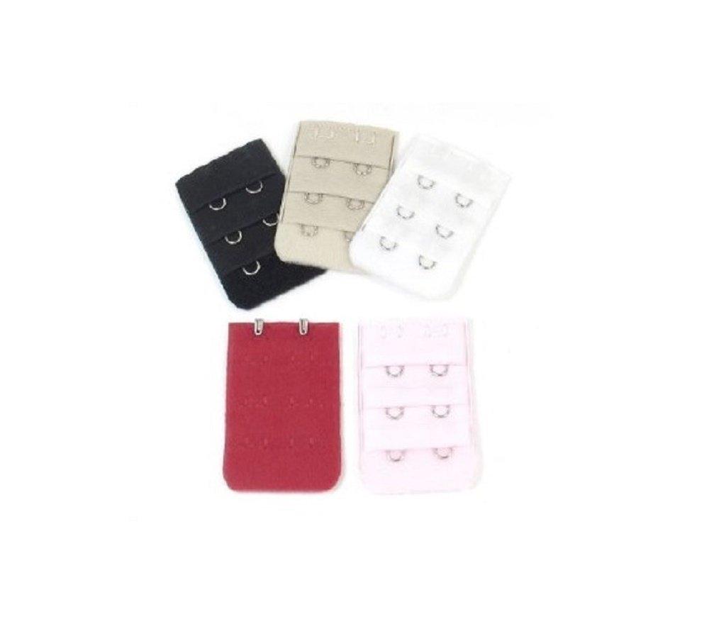 BH-Verlängerung für BHs mit 2 Haken, Set mit verschiedenen Farben, Baumwolle Generic