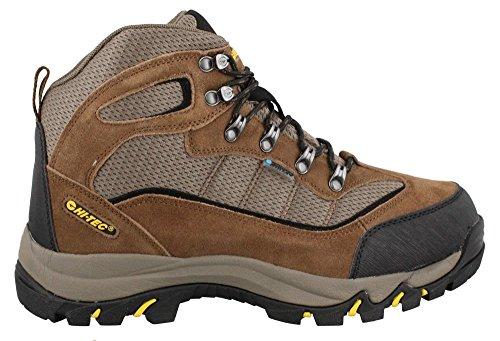 Hi-Tec Men's Skamania Mid WP Hiking Boot, Brown/Gold,11.5 M US (Mens Hiking Boots Hi Tec)
