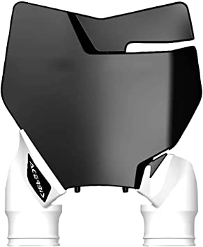 KTM 250 XC 2013 2016 Acerbis Front Number Plate White Fits