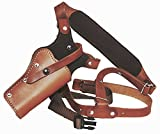 Western Images Leatherworks, Inc Sportsman's Leather Chest Holster for All Ruger Revolvers (Redhawk 4.20-5.' Barrel, I'm Right Handed)