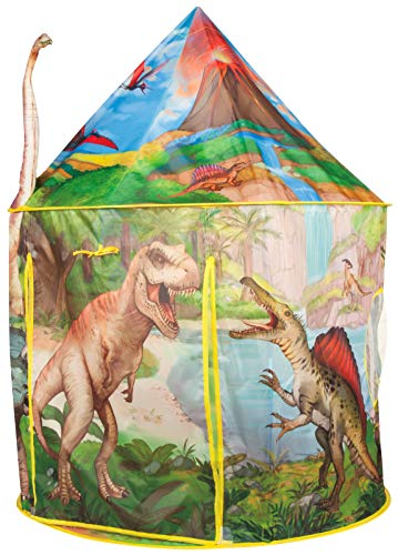 Dinosaur Play Tent Playhouse | Incredibly Realistic Dinosaur Design for Indoor and Outdoor Fun, Imaginative Games & Gift | Foldable Playhouse Toy + Carry Bag for Boys & Girls | by Imagenius Toys