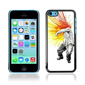 linJUN FENGDesigner Depo Hard Protection Case for Apple iphone 5/5s / Cool Head Explosion Painting