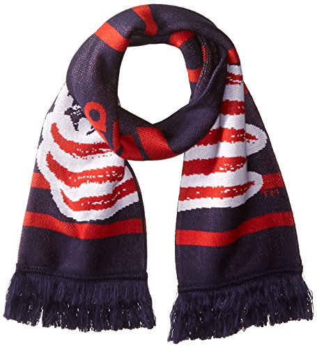 fan products of MLS New England Revolution Halftime Jacquard Scarf, Navy, One Size