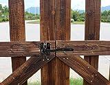 Self-Locking Gate Latch - Post Mount Automatic