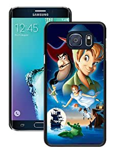 Beautiful Samsung Galaxy S6 Edge Plus Cover Case ,Newest And Durable Designed Case With peter pan Black Samsung Galaxy S6 Edge+ Case Unique And Cool Phone Case