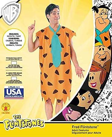 Rubies - Disfraz de Pedro Picapiedra para hombres, The Flintstones ...