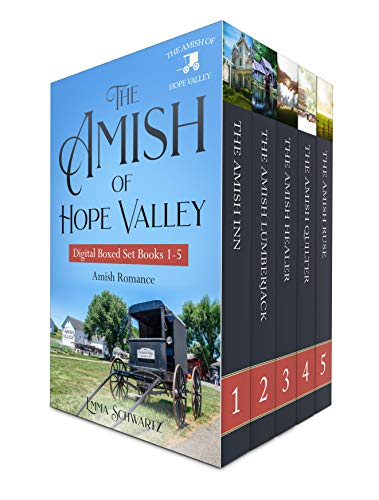 Read FREE with Kindle Unlimited!These five full-length heartwarming Amish Romance from #1 Amish Author, Emma Schwartz, are sure to tug at your heartstrings.The Amish InnNo matter how hard Eve tries to save her failing B & B, Ma...