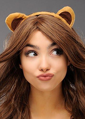 Magic Box Cute Brown Teddy Bear Ears on Headband