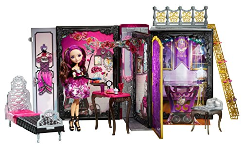 Ever After High Thronecoming Briar Beauty Doll and Furniture Set (Discontinued by manufacturer) (Apple White Ever After High Doll)