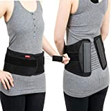Ottobock The S.P.I.N.E. Adjustable Lower Back Brace with Pulley System - Lumbar Back Support Belt for Men and Women - Compression to Relieve Lower Back Pain & Spine Pressure, X-Large
