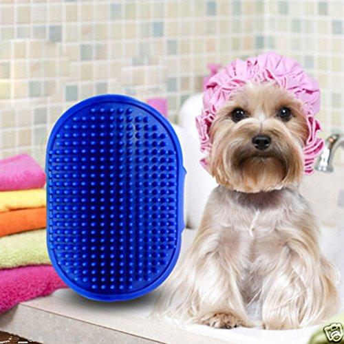 Dog Cat Bath Brush Comb Hair Rubber Glove Pet Puppy Hair Grooming Massage Mitt