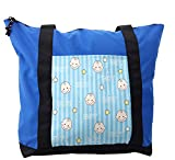 Lunarable Kids Shoulder Bag, Baby Shower Theme Its a Boy, Durable with Zipper