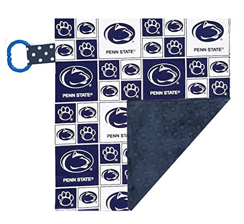 Future Tailgater Penn State Nittany Lions Baby/Toddler Minky Lovey ()