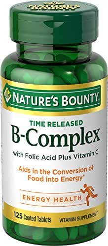 Vitamins & Supplements: Nature's Bounty B-Complex