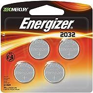 Energizer 2032BP-4 3 Volt Lithium Coin Battery - Retail...