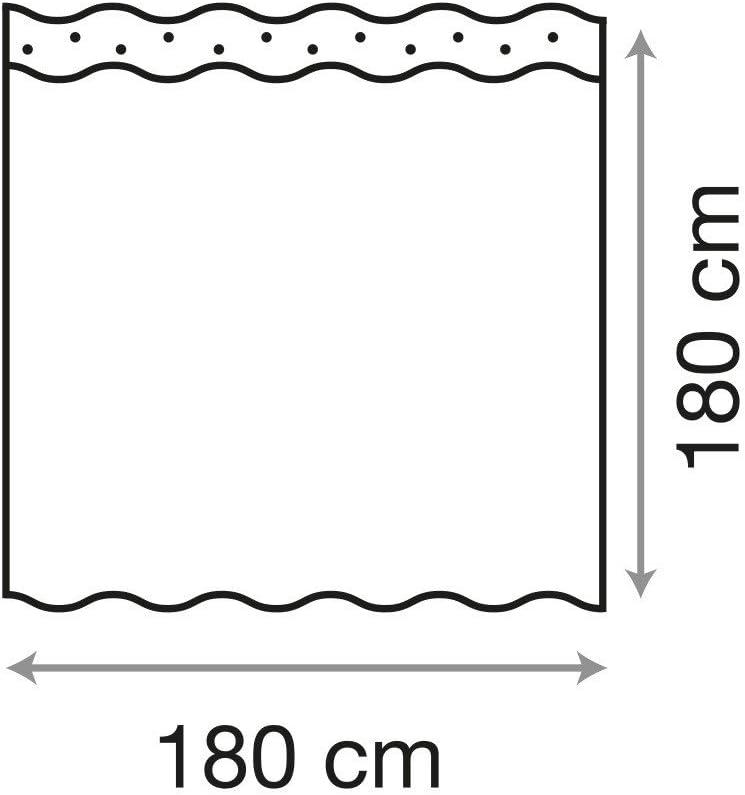 viele sch/öne Duschvorh/änge zur Auswahl Anti-Schimmel-Effekt Sanilo Duschvorhang 180 x 180 cm, Antik inkl hochwertige Qualit/ät wasserdicht 12 Ringe