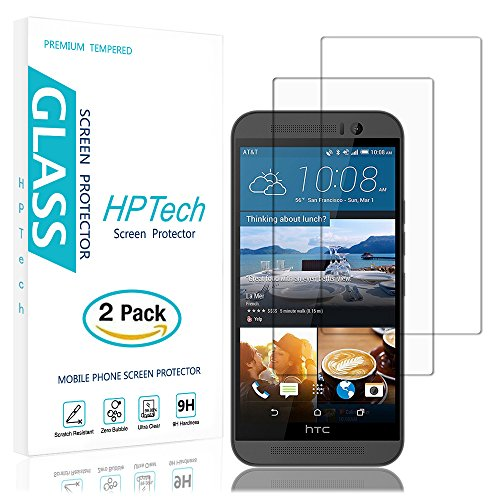 Tempered Glass Screen Protector for HTC One M9 (Clear) - 8