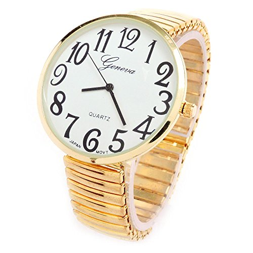 ladies big face watches - 2