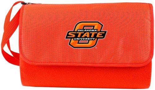 NCAA Oklahoma State Cowboys Outdoor Picnic Blanket Tote, Orange