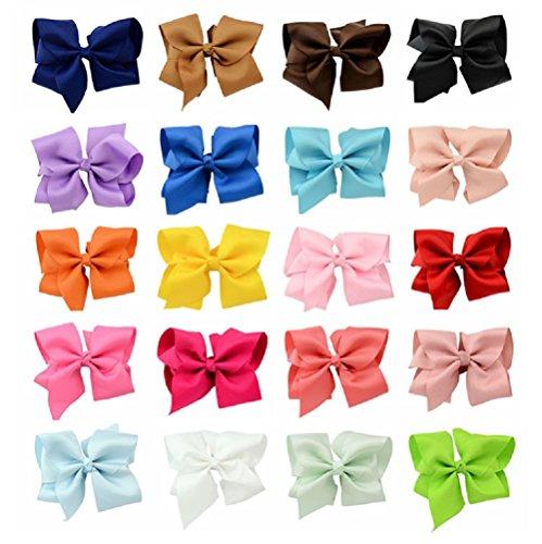 20 pcs Hair Bows-3