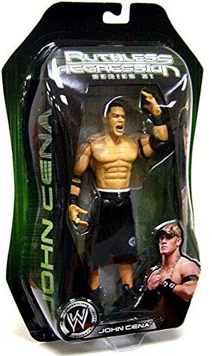 Jakks Pacific WWE Wrestling Ruthless Aggression Series 21 John Cena Action Figure