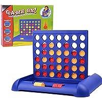 لعبة كونكت 4، لعبة لوحة تعليمية للاطفال، لعبة رياضيات هدية للاطفال والصغار