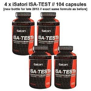 4 x iSatori ISA-TEST (4 bottles (416 capsules))