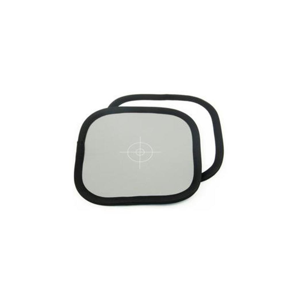 Lastolite LL LR1250 - Carta de calibración fotográfica (18%, 30 cm), Gris, y Blanco