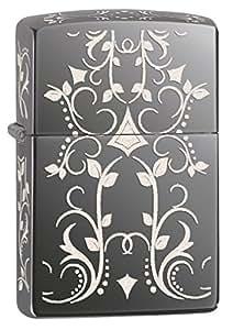 Zippo Filigree Black Ice Pocket Lighter
