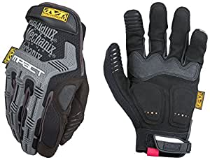 Mechanix Wear - M-Pact Gloves (Large, Black/Grey)