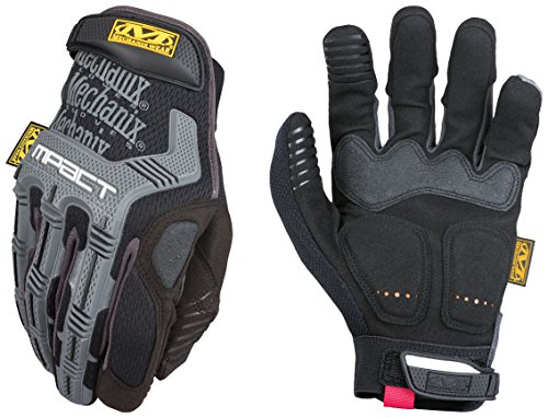 Mechanix Wear - M-Pact Gloves (Medium, Black/Grey)