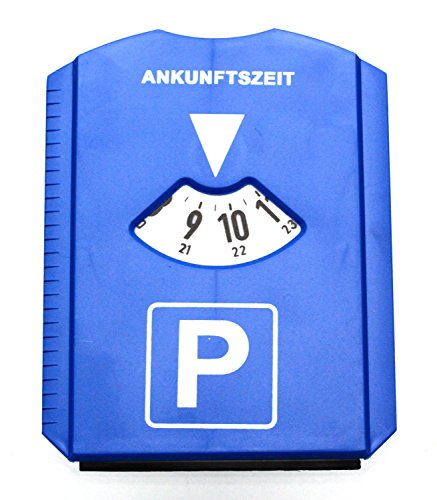 Oramics klassische Parkscheibe inkl. Eiskratzer-Funktionen - Ein Muss für jeden Autofahrer/-in