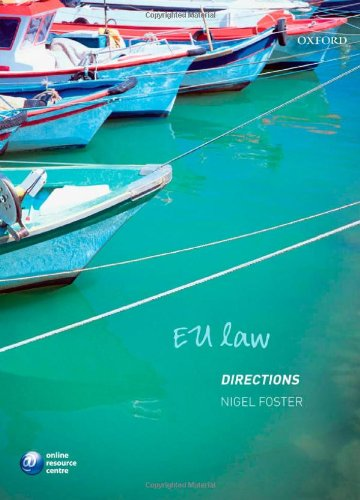EU Law Directions (Directions Series), by Nigel Foster