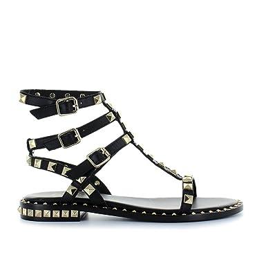 Ash Chaussures Femme Sandales Poison Noir Printemps-Été 2018  Amazon ... 42ccd3efdcf0