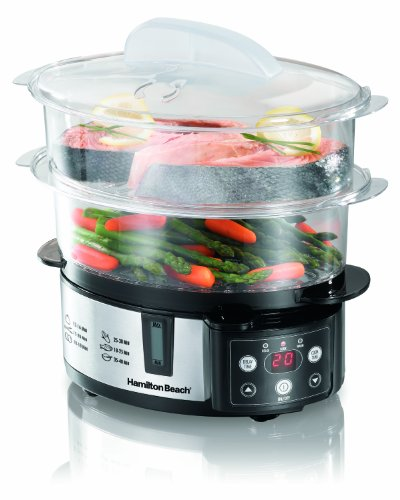 Hamilton Beach 37537 Digital Steamer