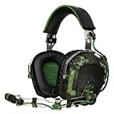 SADES SA926 Aviation Stereo Gaming Headset for PS4/PS3/Xbox One/Xbox 360/PC/iPhone
