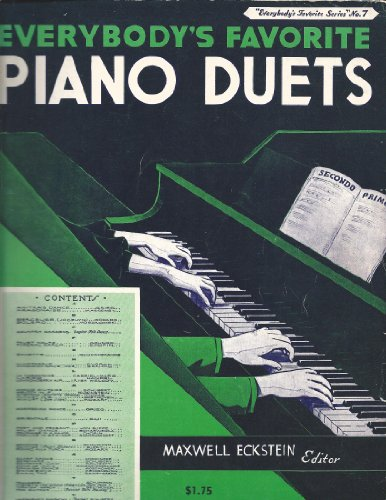 Everybody's Favorite Piano Duets (Everybodys Favorite Series, No. ()
