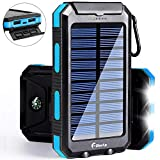 Best Solar Phone Chargers - Solar Charger 20000mAh Power Bank, Portable Charger Solar Review