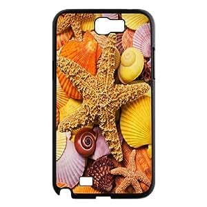 [QiongMai Phone Case] For Samsung Galaxy Note 2 Case -Sea Stars and Sea dragon-IKAI0446871