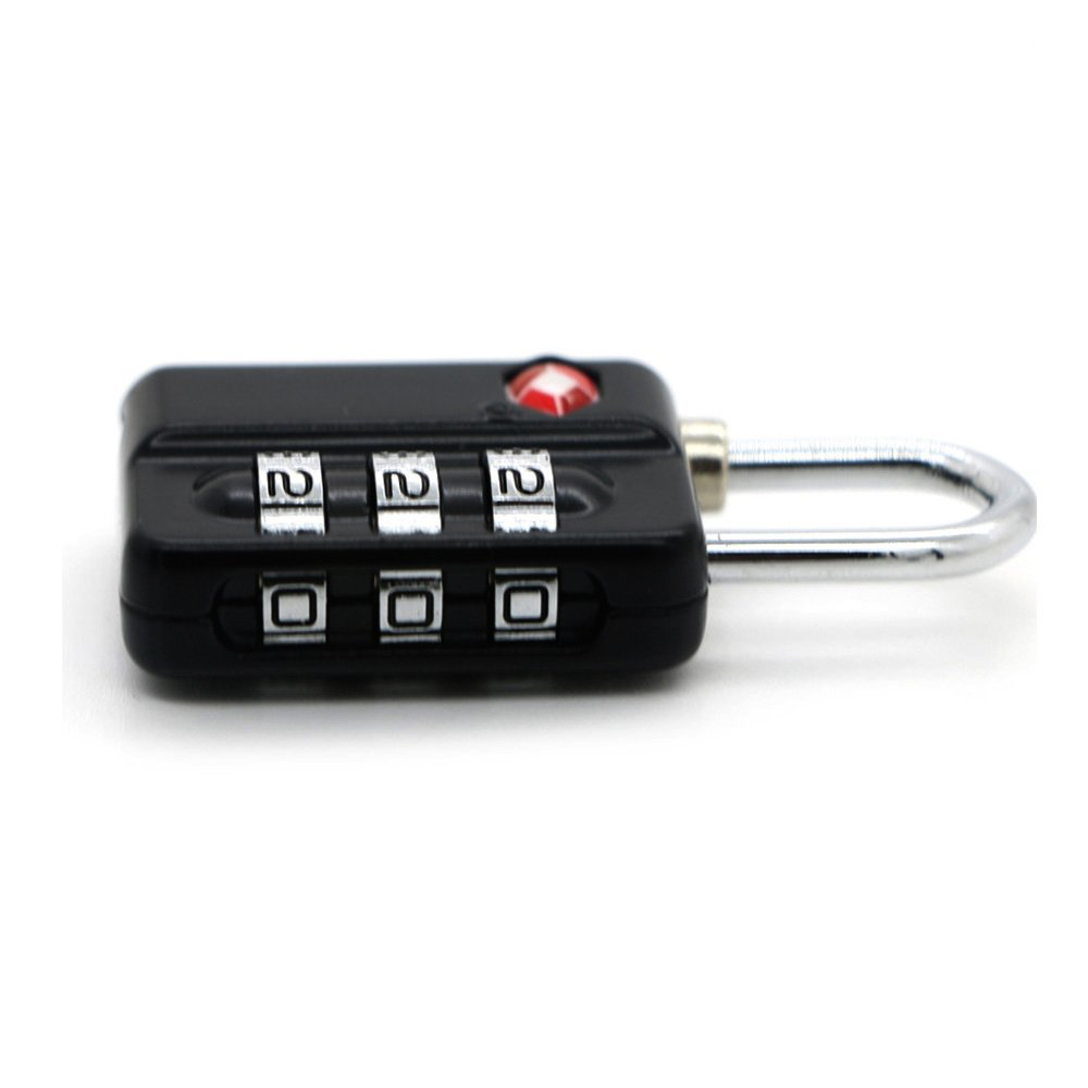 TSA Luggage Locks (4Pack) -Combination Padlocks - Approved Travel Lock for Suitcases & Baggage by Zhovee (Image #5)
