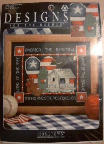 (Designs for the Needle - Americana Counted Cross Stitch - America the Beautiful)