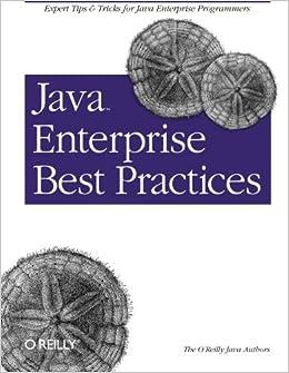 Book Java Enterprise Best Practices