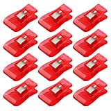 50 Pcs Wonder Clips for Crafts Hobbies Quilting Sewing Clips Red
