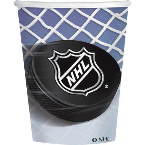Nhl Hockey 9Oz Cups (8 Pack) - Party Supplies