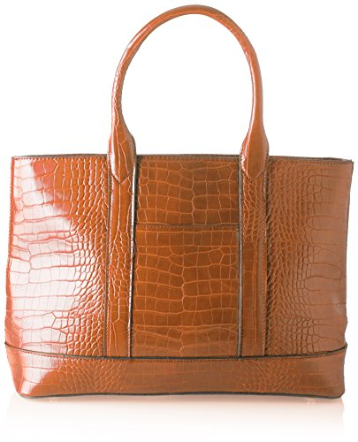 Swankyswans Audrey Faux Leather Tote Bag Wallet - Bolsos totes Mujer Marrón (Tan)