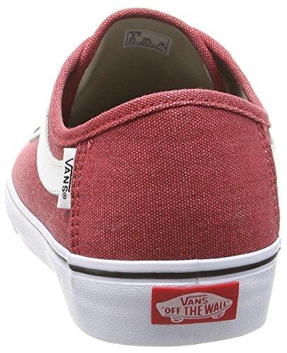 Vans Black Ball Sf - Zapatillas Hombre Rojo (washed/chili Pepper)