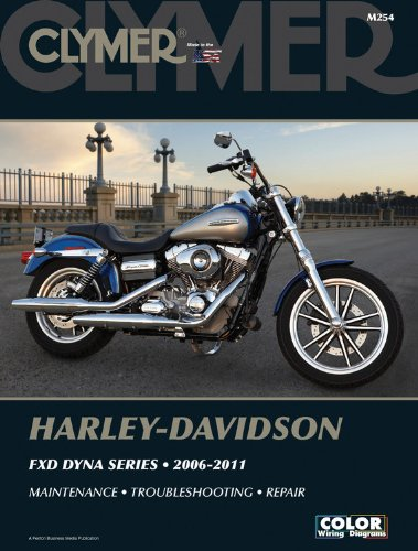 Harley-Davidson FXD Dyna Series 2006-2011 (Clymer Manuals: Motorcycle Repair) (Harley Davidson Accessories Book)